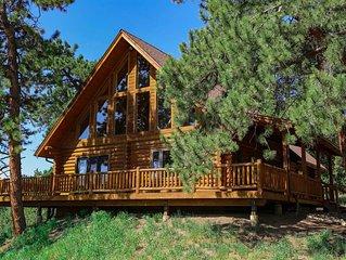 Ponderosa Pine Mountain Escape~MTN View Nite Lts of Boulder/Hike/Bike/Ski Wildli