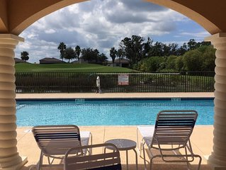 Amazing 3rd floor condo overlooking the 6th waterhole on Sanctuary golf course