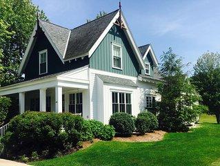 Custom Harbor Springs In-Town Luxury Cottage