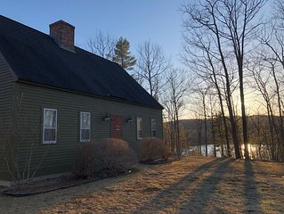 Amazing Setting!  Private; Mountain Views & Water Access w/ FREE use of Kayaks