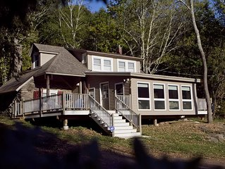 Cheerful 3 BR Country Cabin On 5 Acres  - Secluded yet close to town!
