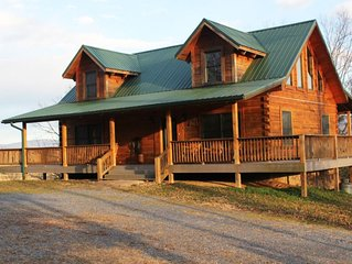 This property is located on a 65 acre farm on the Shenandoah River.