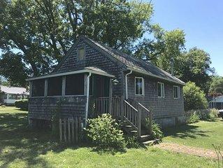A sweet getaway cottage.