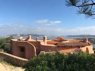 villa con splendida vista mare La Chessa