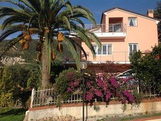 PALME E MARE appartamento A Loano in villa  con terrazzi e giardino vista mare
