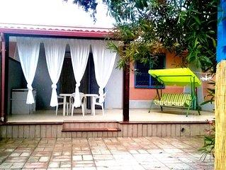 Villa Pina a 110 m dalla spiaggia di Punta prosciutto