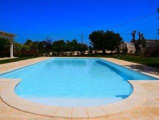 Villa Greta a Polignano a Mare, massimo relax nella natura tra mare e campagna