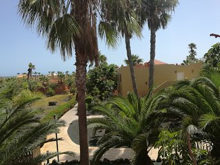 Appartamento in resort nel verde, wifi gratis -Corralejo - Fuerteventura - Canar