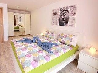 Apartment mit grosser Terrasse - Ideal auch fur Langzeiturlauber