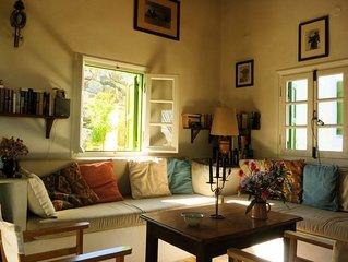 Idyllisch und ruhig gelegenes Haus mit phantastischer Aussicht