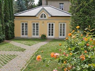 Idyllisches Ferienhaus mit romantischem Garten und WLAN zentral in Quedlinburg