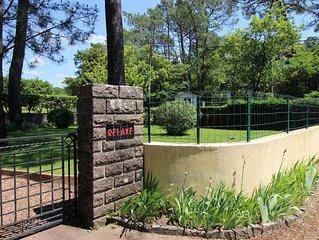 Villa 4 personnes avec jardin dans un endroit tres calme