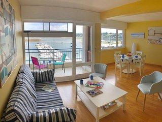 Perros Guirec/Superbe appartement /vue mer et port.