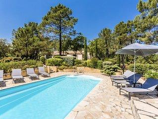 Superbe villa de Roussillon moderne avec vue panoramique et piscine chauffée