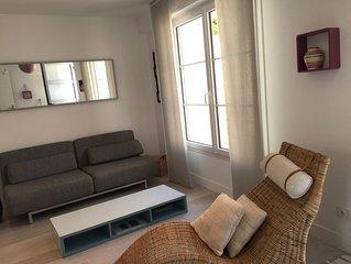 Maison moderne a 3 mn du Remblai et 3 mn du centre ville des Sables.