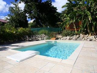 Magnifique bungalow Cazamayou pour 2 amoureux avec jacuzzi privatif et piscine
