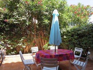 Maison climatisée dans résidence avec piscine