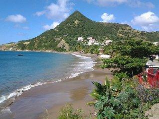Appartement meublés  a 150m de la plage vue/mer