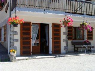 Joli appartement au pied des pistes et proche du centre du village