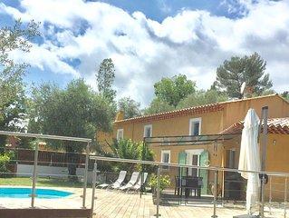 Belle villa avec piscine privee quartier au calme, proche  toutes commodites