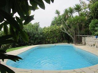 °Offre 2020° Un petit Paradis à 5 min de la mer avec piscine privée -  Jardin