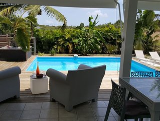 Villa Majeya confort piscine et jardin prives proche plage