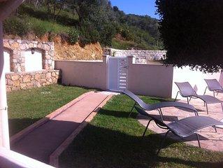Villa CARDICCIA charme et discretion a 5km de la plage  piscine privee