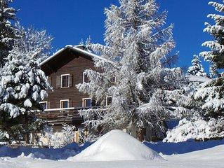 Appartement charmant dans chalet traditionnel avec vue sur la montagne