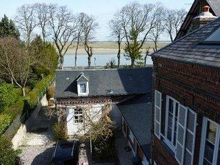 Villa sur le quai pietonnier