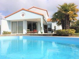 Villa de luxe dans  ''Les Jardins du Château d'Olonne''  proche de le mer