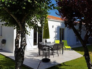 VILLA  A 800 m  DES PLAGES des SABLES D'OLONNE - 6 PERSONNES - 115 m² WIFI