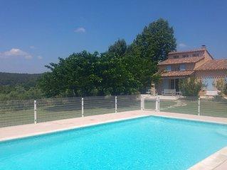 Villa au calme avec piscine à 5 minutes du golf d'Aix en Provence