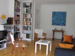 Grand appartement tt confort, sur jardin plein Sud, 15 mn à pied du Vieil Annecy
