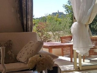 Mazet charme Juancha CrillonleBrave ProvenceVentoux sud belle vue petite piscine