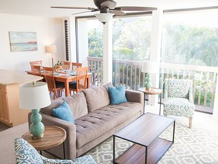 Clean 2 Bedroom near Makaha Beach (New Hardwood Floors!)