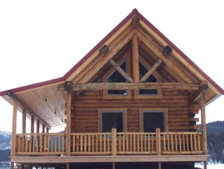 COME STAY IN OUR BEAUTIFUL CABIN SITTING ON THE BANKS OF THE BIG HOLE RIVER #2