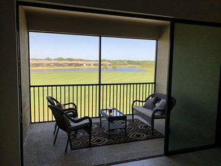 Beautiful golf course & lake view condo in Esplanade Lakewood Ranch