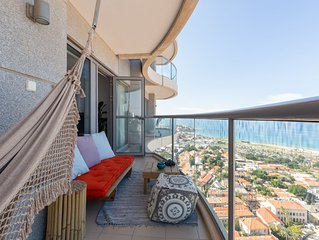 5 STAR APT! Amazing Ocean View. The best location. Pool+Gym+Spa Parking