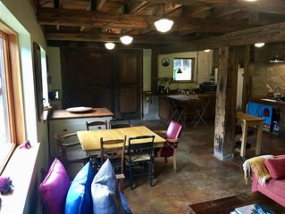 Beautiful Flat in Western Sonoma's redwood hills  with hot tub,  pets ok
