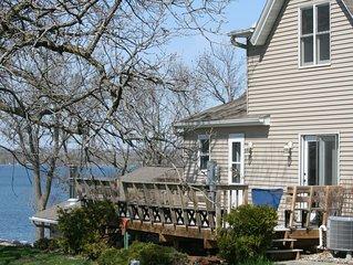 Twin Spruce Vacation Rental - 115 year old home on beautiful Lake Minnewaska