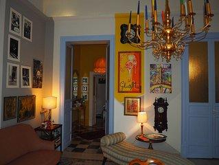 'Oliva' , appartamento centralissimo in un palazzo della fine dell' 800
