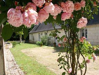 'La Closerie' au Chateau de Fontenay, Parc de 17 Ha avec Piscine et Tennis.