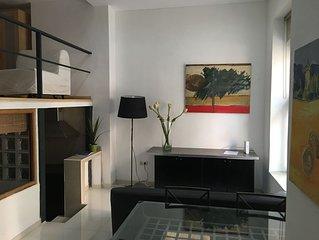 Loft gigante en Madrid Rio, 2 dormitorios dobles
