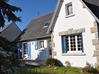 Ferienhaus Bretagne, Erquy 150 m vom Strand Caroual in ruhiger Lage