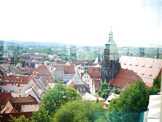 'Schloss Sonnenstein' über den Dächern Pirna´s mit atemberaubenden Ausblick!