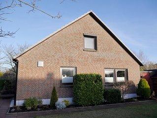 FeWo im OG des Einfamilienhauses bietet auf ca. 85 m2 Platz fur 4-6 Personen