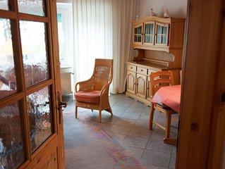 Wohlfuhloase mit 3 Schlafzimmern, mitten im Ort, trotzdem ruhig gelegen.
