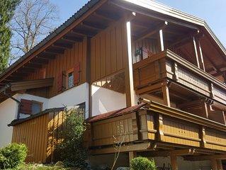 Ferienchalet im Chiemgau für 2 bis 7 Personen