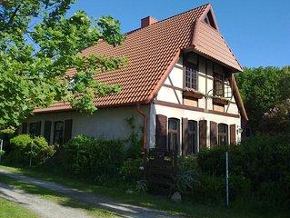 grosse und  gemutliche Ferienwohnung 1 Forsthaus Ehbruch im Ostseebad Nienhagen