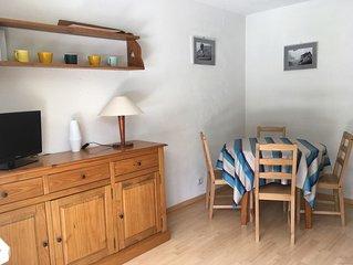 Appartement 2 chambres 4/5 personnes avec jardin